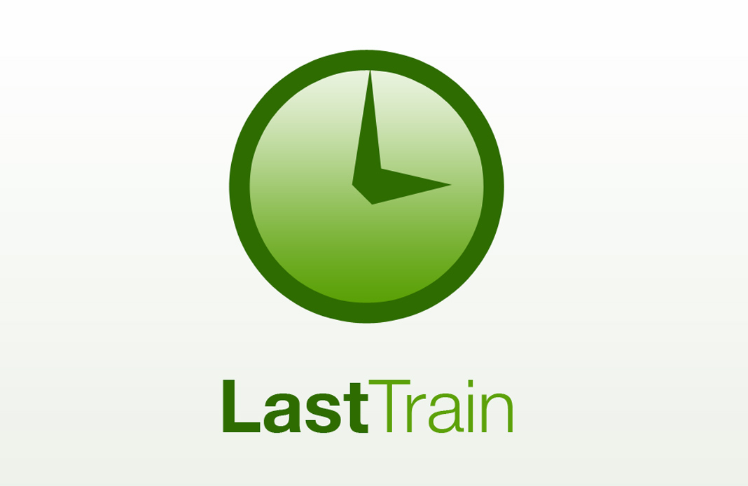 Last Train mobile web app